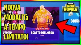 "NEW MODE ON FORTNITE ""Horda Shot"" with challenges and free items on Fortnite!"