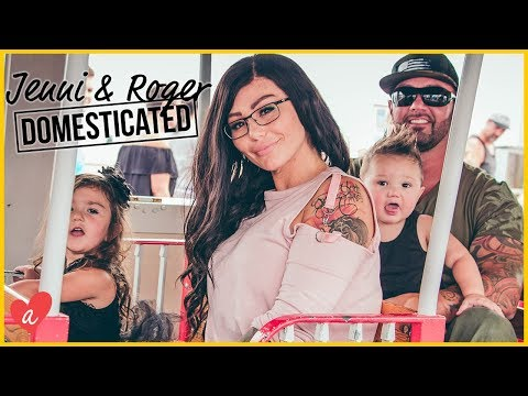 JERSEY SHORE with The Mathews | Jenni & Roger: Domesticated