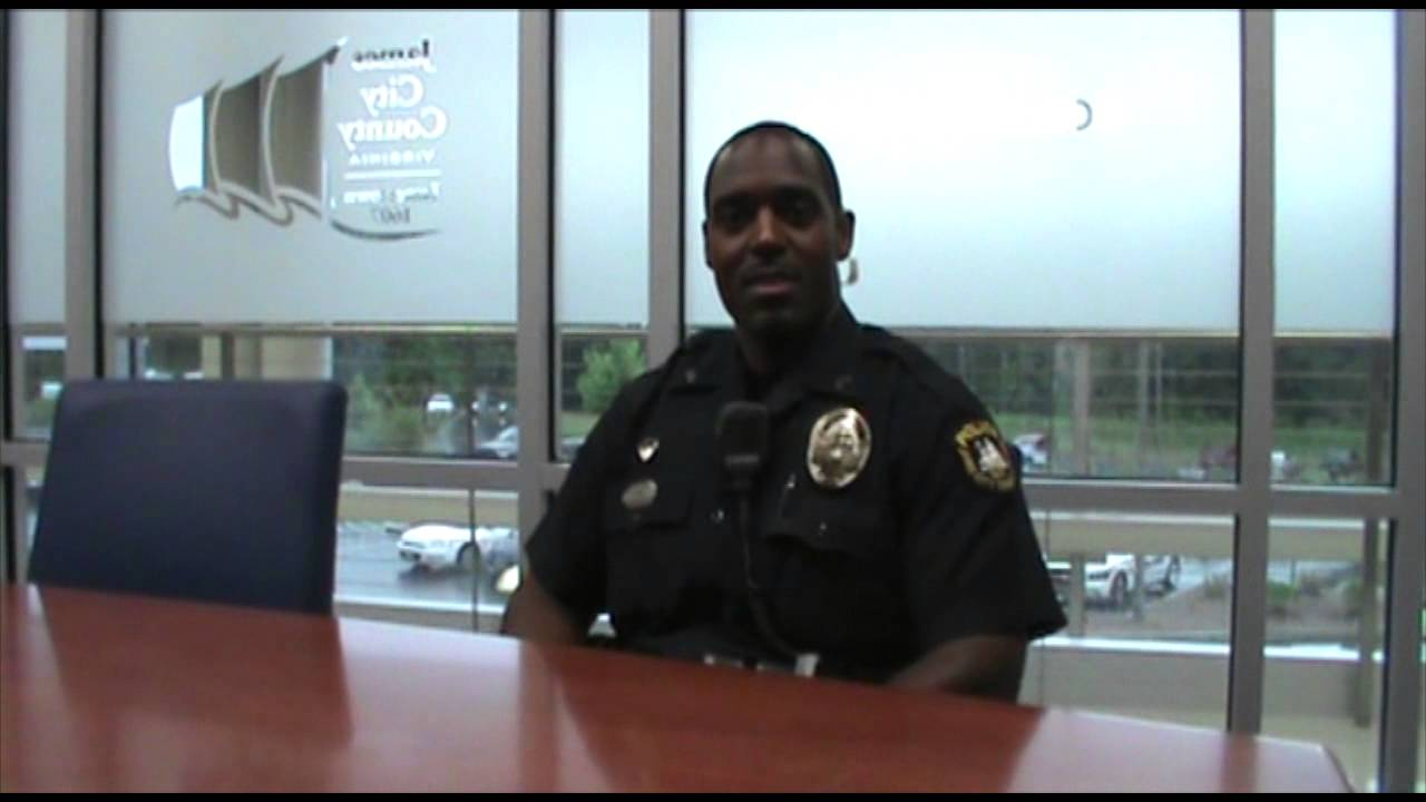 James City County Officer of the Year 2013 - YouTube