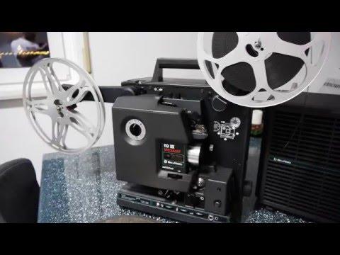 Bell&Howell 1698 TQ III 16mm Filmprojektor Test