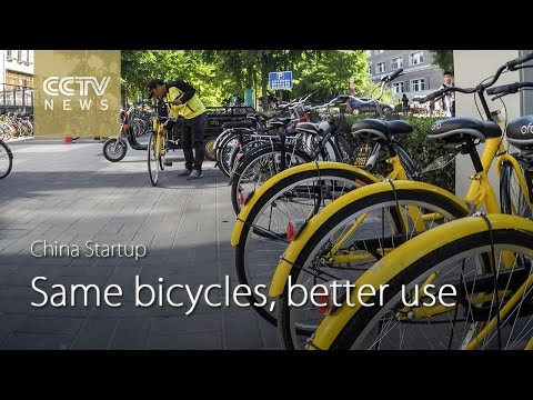 China Startup: Smart bicycle-sharing on campus