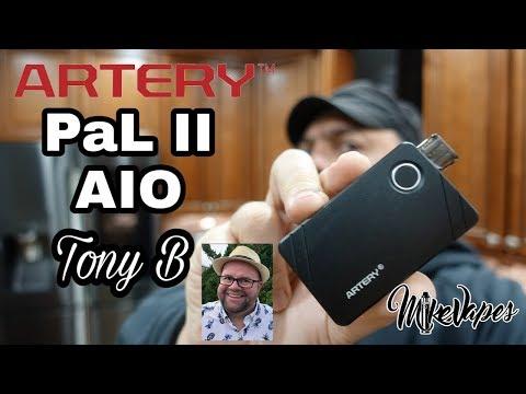 Tony B Pod Vape? PAL II AIO By Artery Vape - Mike Vapes