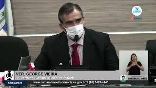 George Vieira    Câmara de Limoeiro do Norte 18 02 21