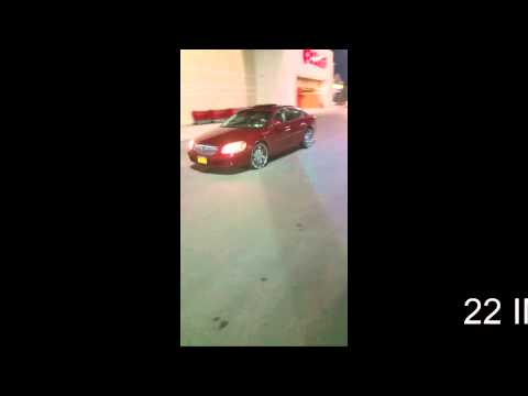 22 Inch Rockstar Rims on a Buick Lucerne