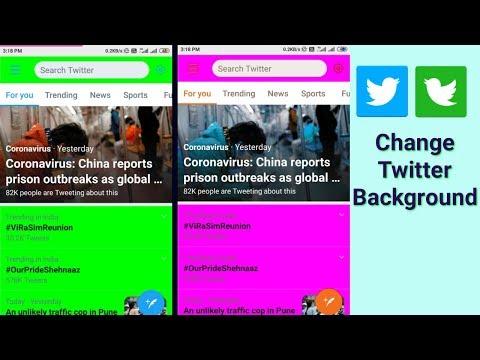 Change Twitter Background - MT Manager - APK Editor Pro