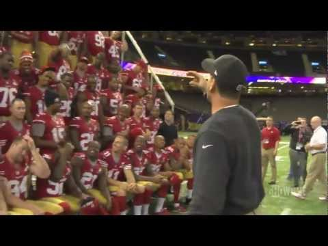 Inside the NFL - 49ers Photo Shoto - Behind the Scenes - Super Bowl XLVII - SHOWTIME