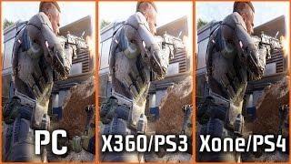 Call of Duty Black Ops 3: PC vs Xbox 360/PS3 vs Xbox ONE/PS4 (Graphics Comparison)