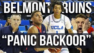 "Film Room: Belmont's ""Panic"" Backdoor Set"