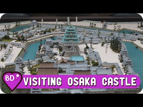 Lets Go To Osaka Castle in Japan