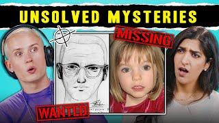 Adults React To Unsolved Mysteries (Zodiac Killer, Bermuda Triangle, Madeleine McCann)