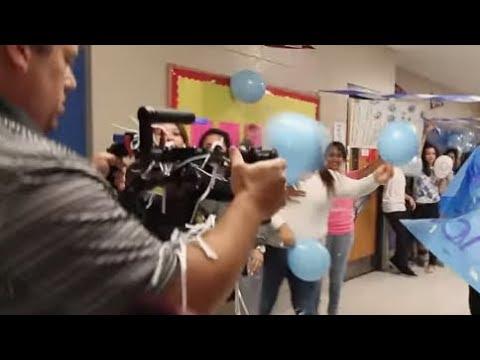 Hilton Head Island High School students record a Lip Dub