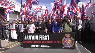 اليمين المتطرف يطالب بطرد المسلمين من بريطانيا