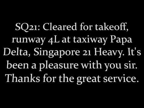 Last Flight -- SIA21/SQ21 Longest Flight In The World Newark-Singapore : Airbus A340-500