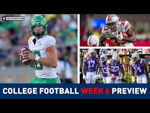 The Picks For The BEST College Football Games Of Week 6 | CBS Sports HQ
