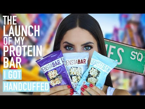 HANDCUFFED IN TIMES SQUARE DURING MY LAUNCH | Jen Selter