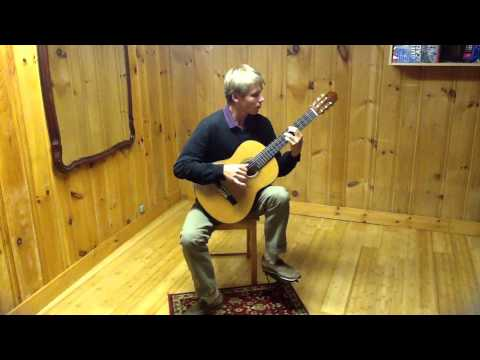 Erik Simon Vuoritie Plays Vals Op8 No4 By Agustín Barrios Mangoré