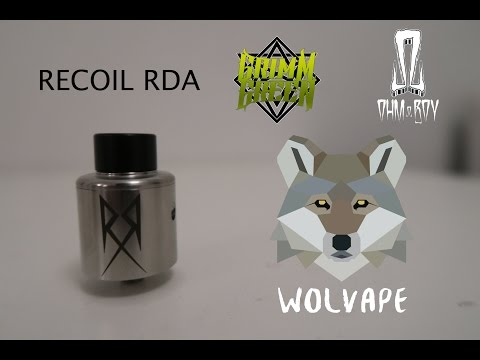 RECOIL RDA - INDONESIA VAPE REVIEW