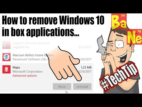 How To Uninstall Windows 10 Apps Like Maps, Edge, Mail, Candy Crush!