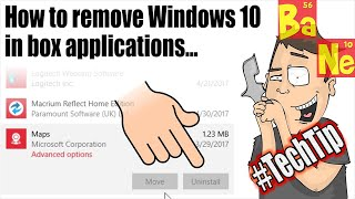 How To Remove Windows 10 Applications That Won't Uninstall