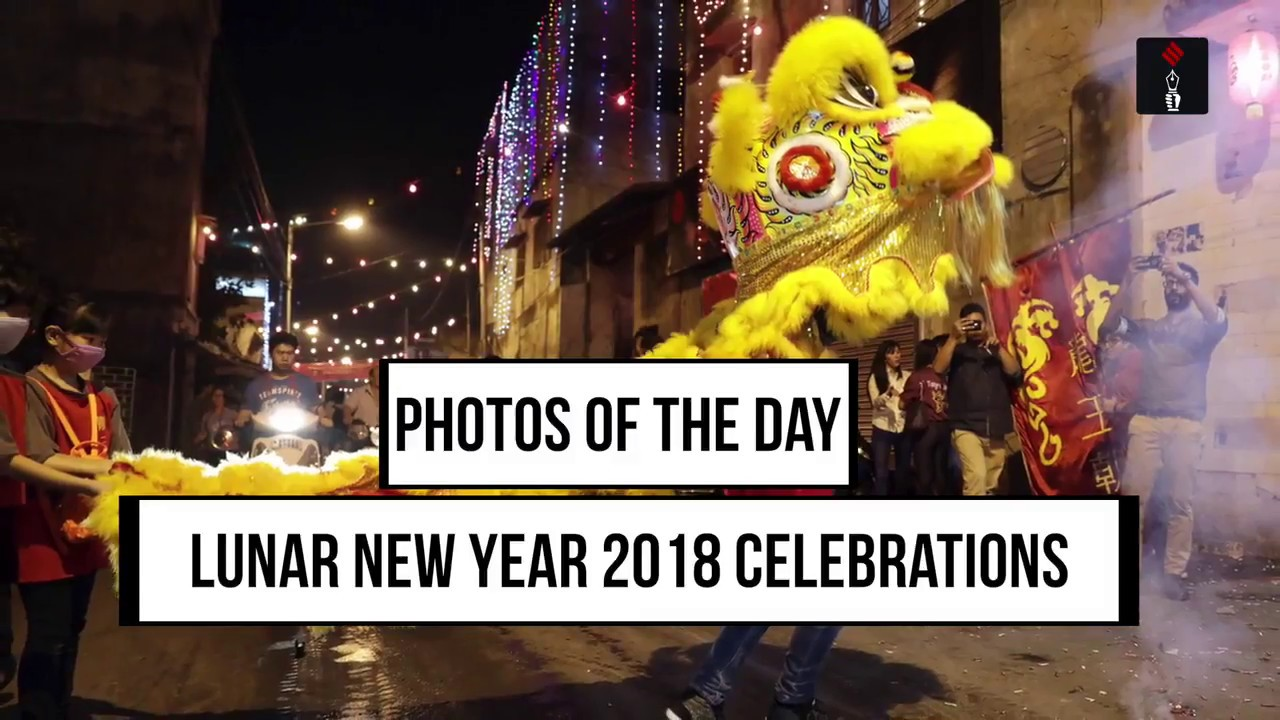 Photos Of The Day: Lunar New Year 2018 Celebrations