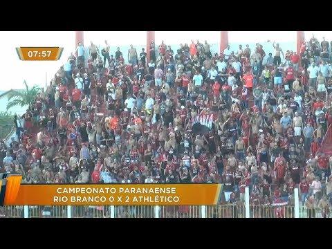 ESPORTE: Confira os gols da terceira rodada do Campeonato Paranaense de 2019