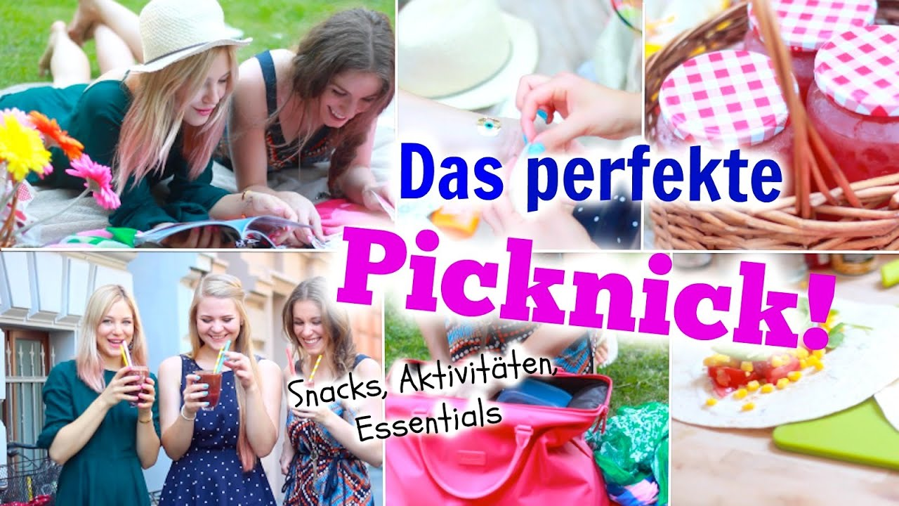 das perfekte picknick snacks beauty essentials aktivit ten im sommer barbieloveslipsticks. Black Bedroom Furniture Sets. Home Design Ideas