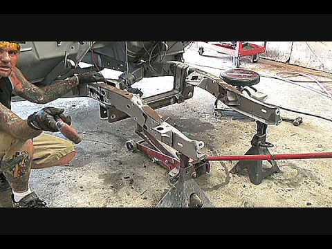 1961 GMC Truck-Installing Mustang 2 Rack and Pinion Front Suspension-Part 1