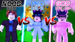 TOWER OF HELL Noob vs Pro vs God | Roblox | Tower Of Hell