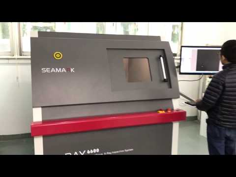 Inspect Iphone battery industrial X ray inspection system X6600A 130KV digital scanning machine