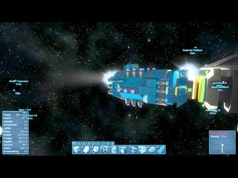 Space Engineers: Auto Docking Drone