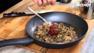 Come preparare le Farfalle cremose ai funghi (vegan)