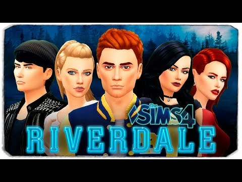 РИВЕРДЭЙЛ В THE SIMS 4 (CAS ПЕРСОНАЖЕЙ ИЗ RIVERDALE) thumbnail
