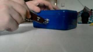 Schloss Knacken mit nur einem Taschenmesser!!!
