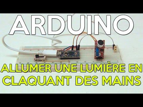 Tutoriel |Arduino et capteur de niveau sonore |HD Français