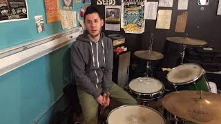 Hello! Welcome to Drummer Dan Lessons
