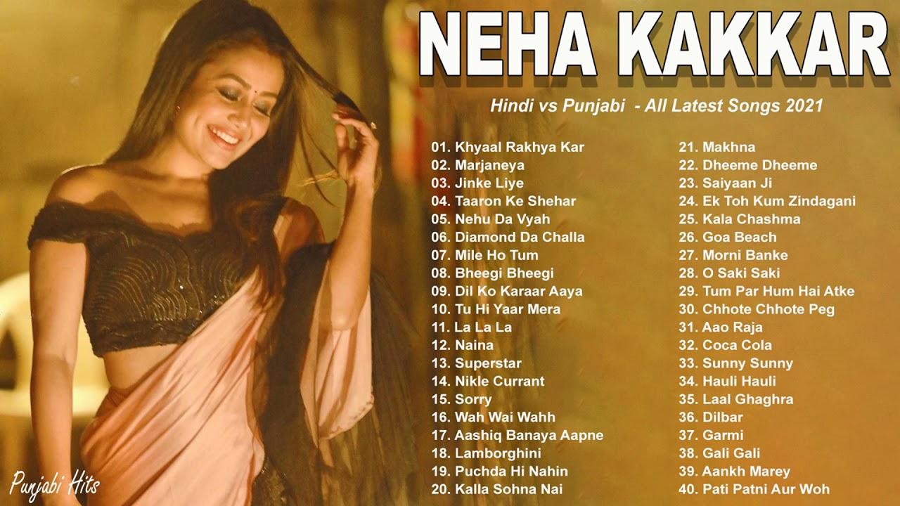 Neha Kakkar ALL HITS SONGS 2021 | Best Hindi - Punjabi Songs in Sweet Voice