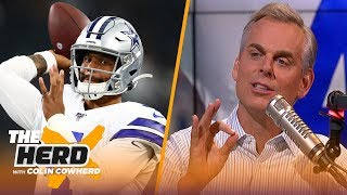 Colin Cowherd plays 'Dis or Dak and reveals which QBs he'd take over Dak Prescott | NFL | THE HERD