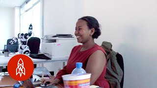 She's at the Forefront of Ethiopia's Emerging Tech Scene