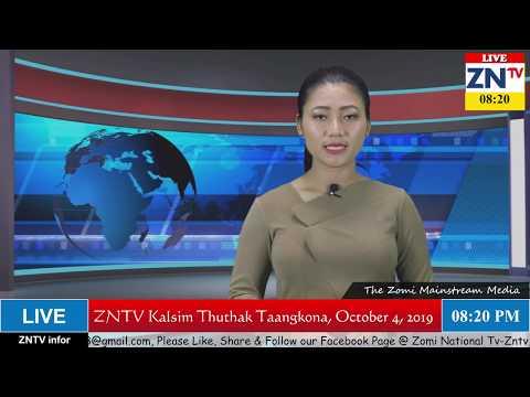 ZNTV Kalsim Thuthak Taangkona # 42, October 4, 2019 (Friday)