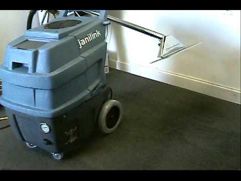 janilink carpet cleaning machine