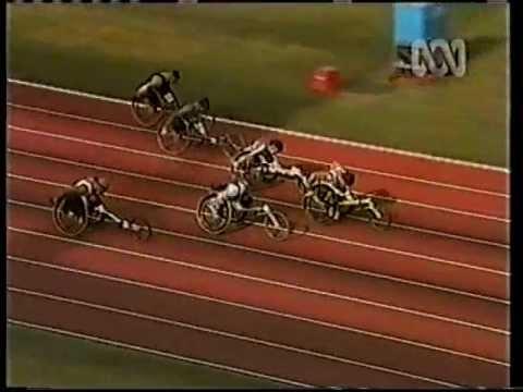 Australian Paralympian John Lindsay prepares for Atlanta