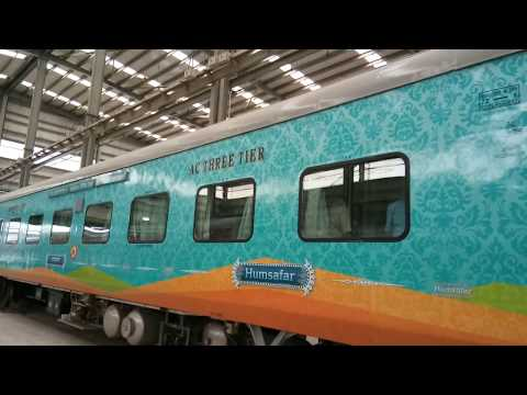 Brand New Train SriGanganagar-Tiruchchirappalli HumSafar With Urinals, nappy-changing tables