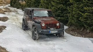 Jeep Wrangler Unlimited Rubicon - Spring Snow Test Drive