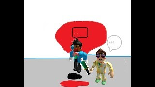 theres a murderer in roblox