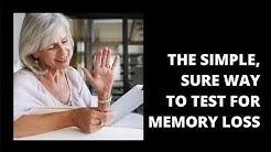 Mild cognitive impairment test