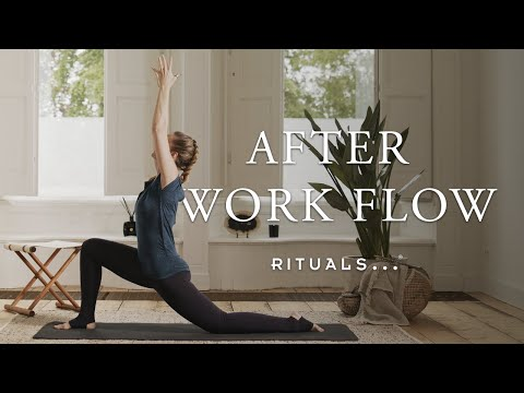 After-Work Yoga Flow to Undo the Damage of Your Desk Job (30-minute vinyasa flow practice) | Rituals