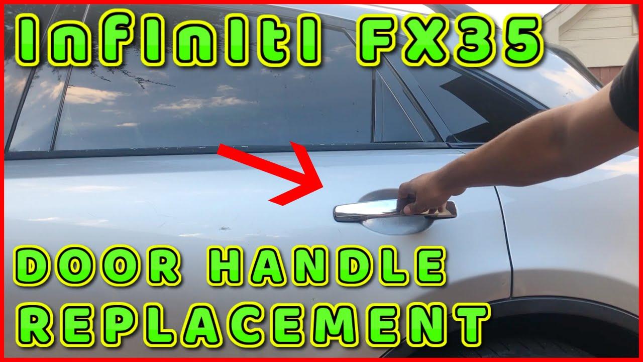 Infiniti Fx35 Rear Door Handle Replacement 2003 To 2008 Youtube