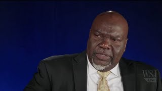 TD Jakes Discusses Bishop Eddie Long; Catholic Church