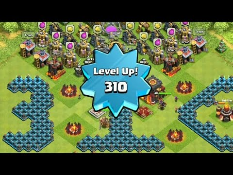 End of Journey, Level 310 (Highest Level) - Clash of Clans