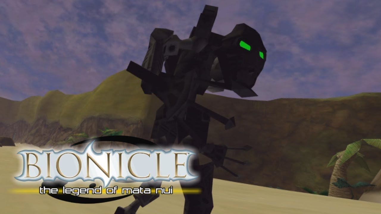 bionicle the legend of mata nui game